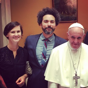 Meeting Pope Francis